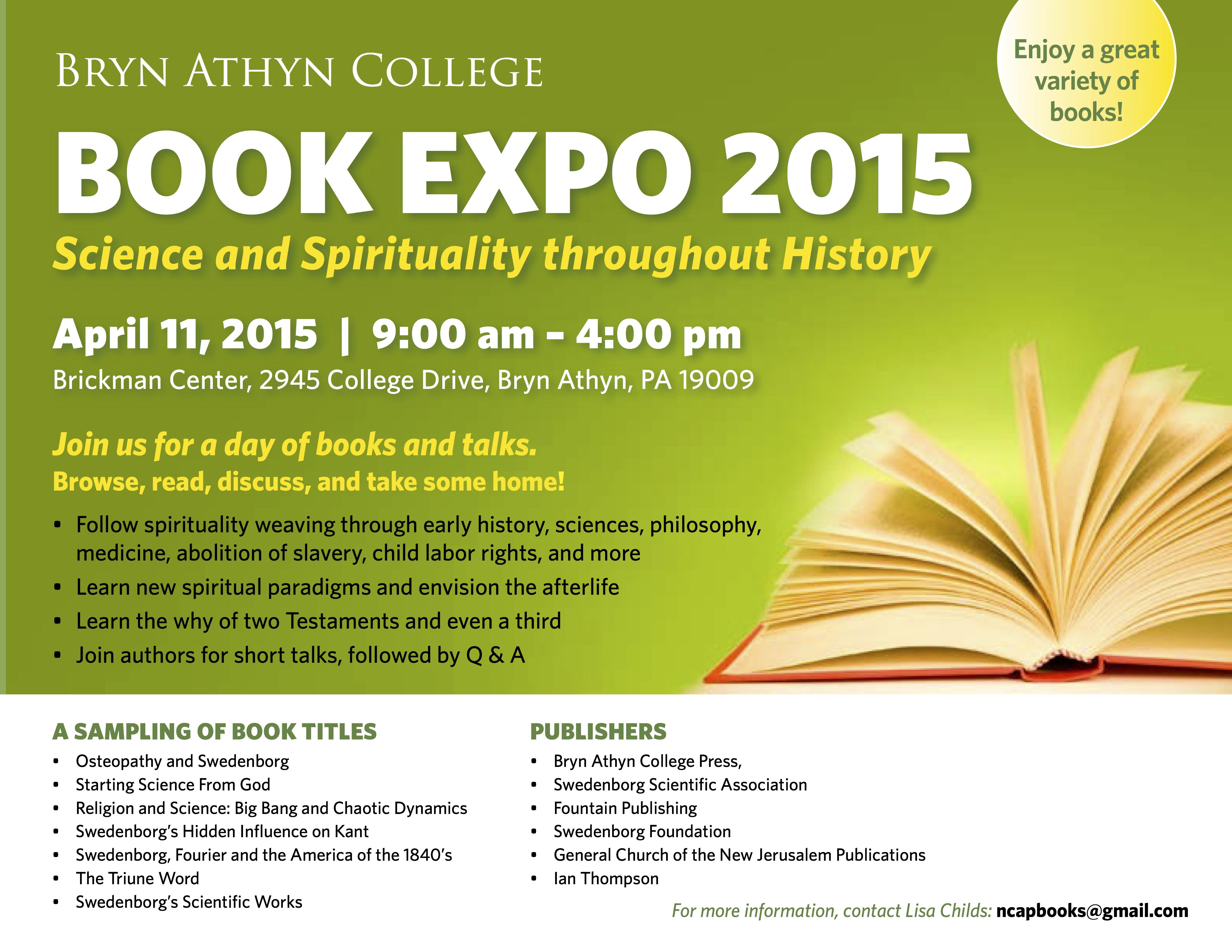 Book Expo - April 11 2015